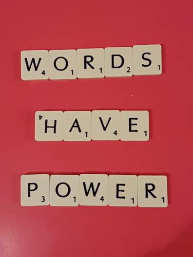 words have power foto